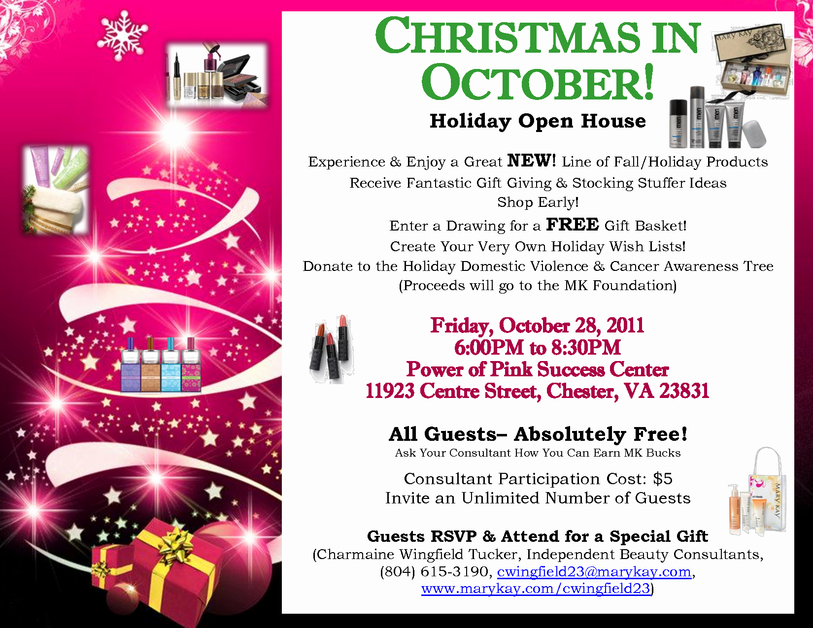 Mary Kay Open House Invitation Beautiful Image Result for Holiday Mary Kay Open House Mk