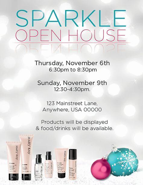 Mary Kay Open House Invitation Elegant 25 Unique Open House Invitation Ideas On Pinterest