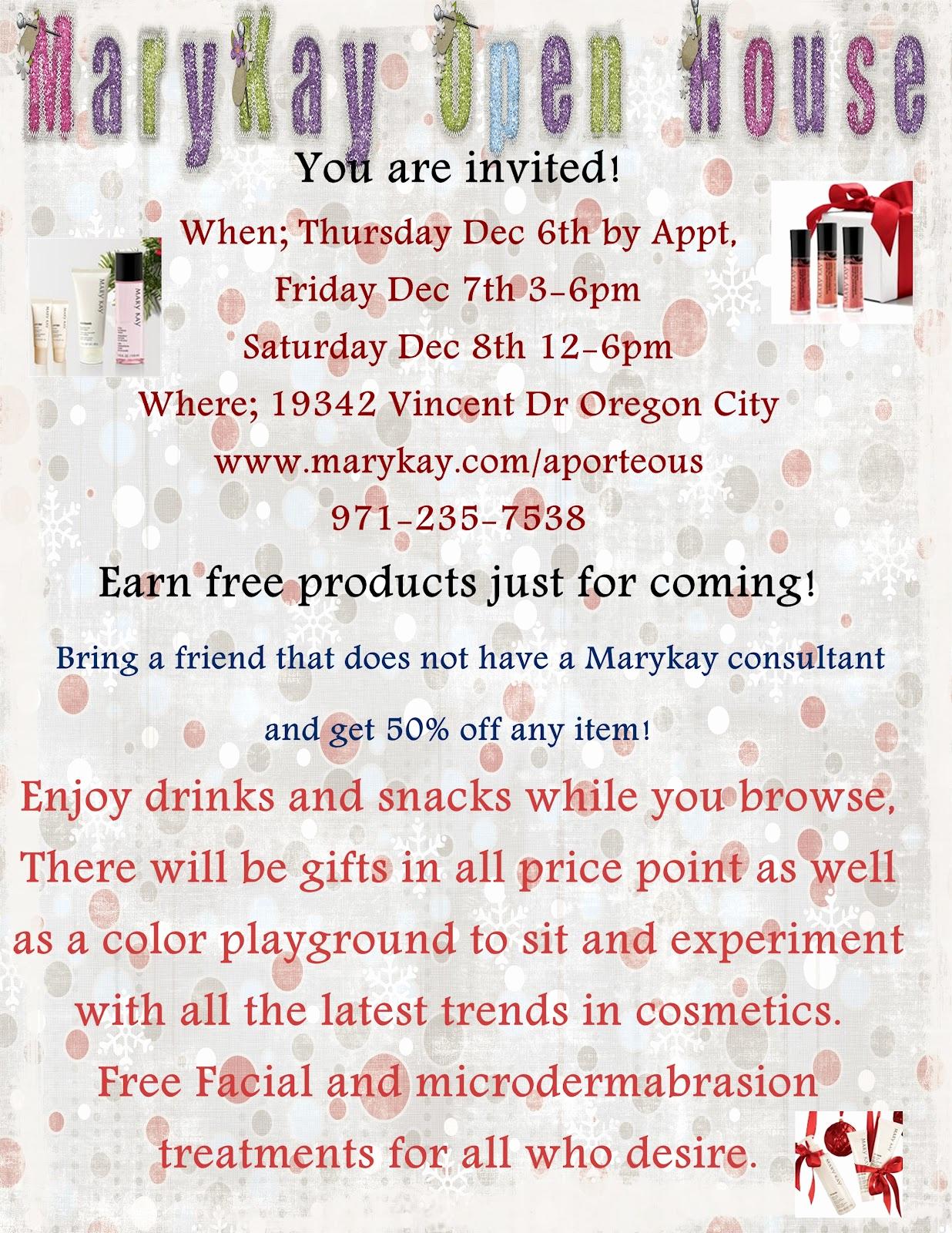 Mary Kay Open House Invitation Fresh Mary Kay Open House Invitations