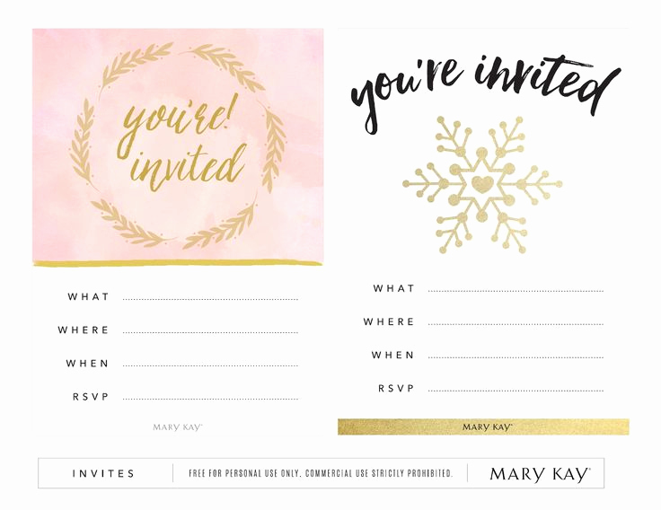 Mary Kay Open House Invitation New 88 Best Mary Kay Christmas Images On Pinterest