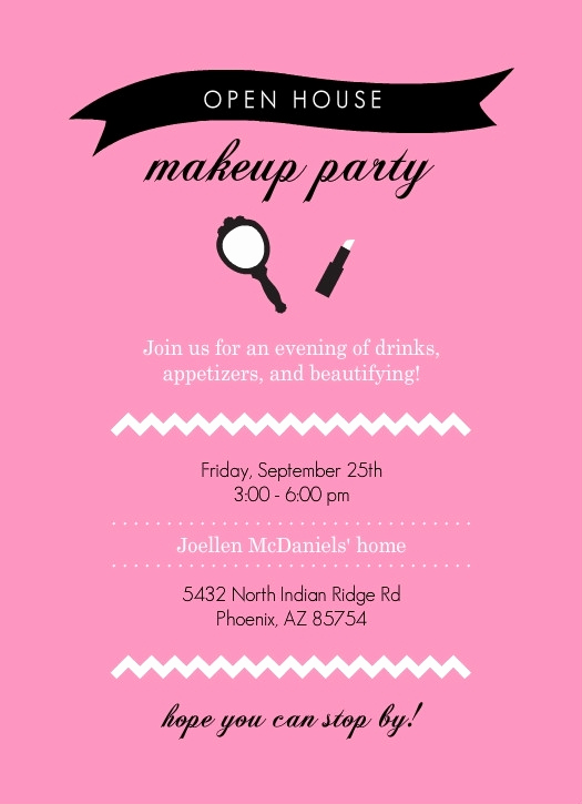 Mary Kay Party Invitation Awesome Mary Kay Invites Printable Free Cobypic