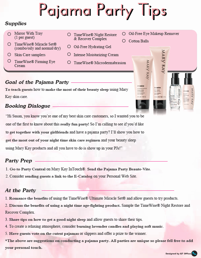 Mary Kay Party Invitation Awesome Mary Kay Party Ideas