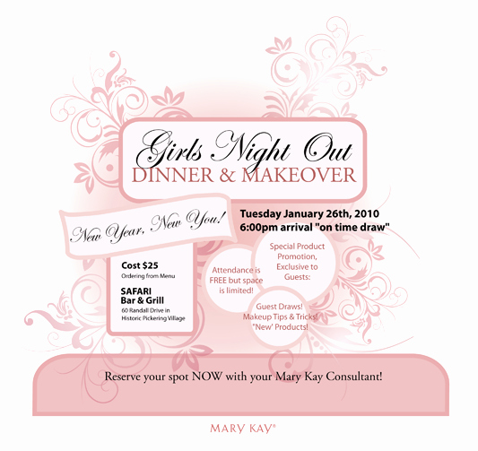 Mary Kay Party Invitation Beautiful Mary Kay Invitation Ideas