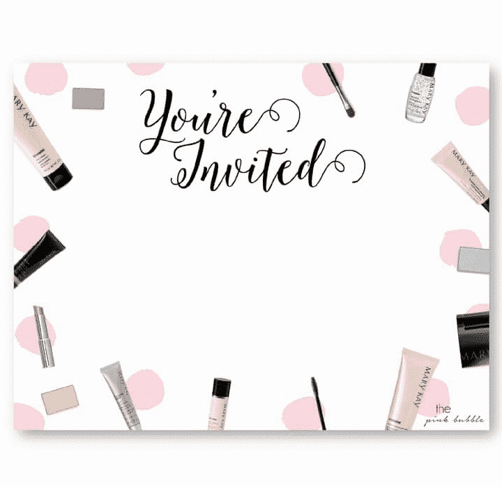 Mary Kay Party Invitation Templates Lovely Mary Kay Products Free Sampling