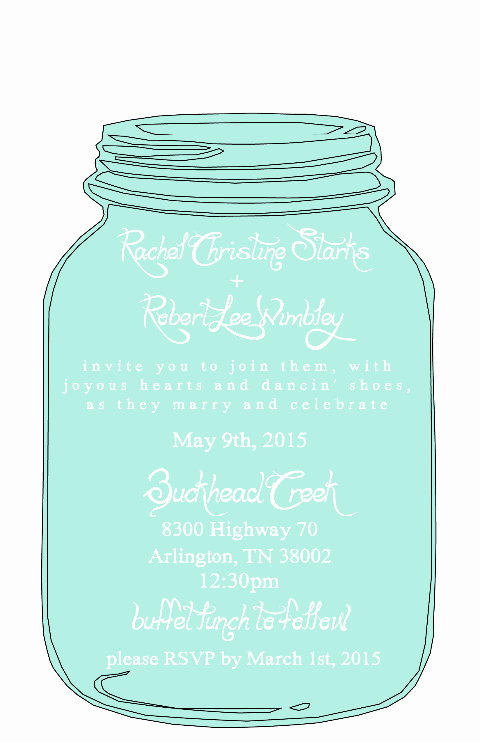 Mason Jar Invitation Template Awesome Mason Jar Free Printable Wedding Invitations Templates