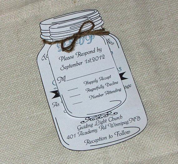 Mason Jar Wedding Invitation Template Best Of 17 Best Ideas About Mason Jar Invitations On Pinterest