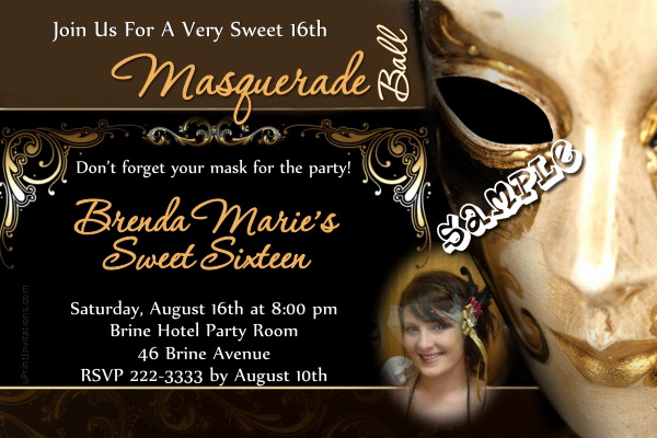 Masquerade Ball Invitation Wording Best Of Masquerade Ball Birthday Invitation