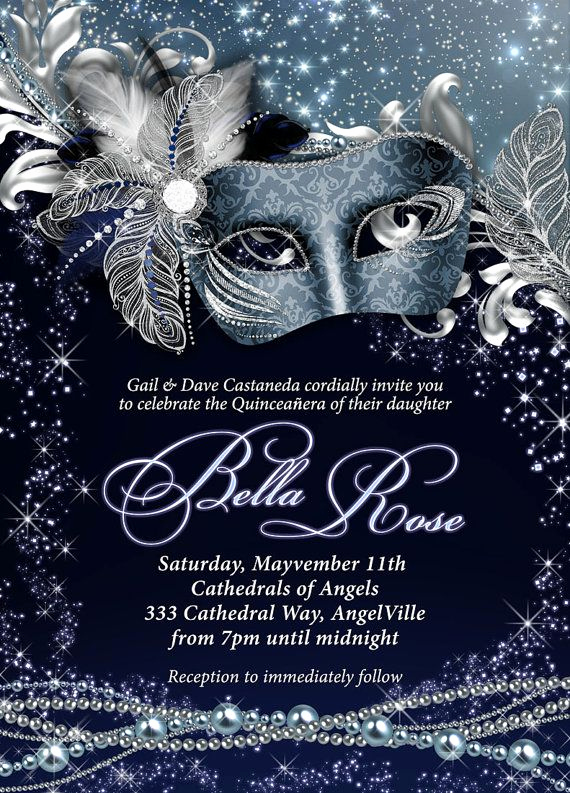 Masquerade Ball Invitation Wording Fresh Best 25 Masquerade Invitations Ideas On Pinterest