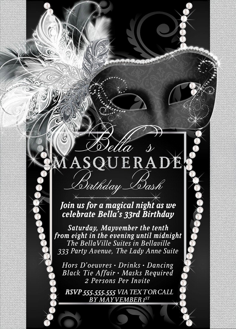 Masquerade Ball Invitation Wording Lovely Masquerade Party Invitation Mardi Gras Party Party