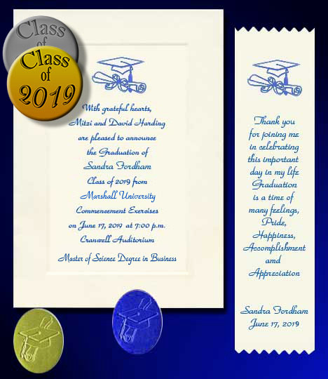 Masters Degree Graduation Invitation Wording Beautiful University Bachelor Masters or Doctorate Degree Item