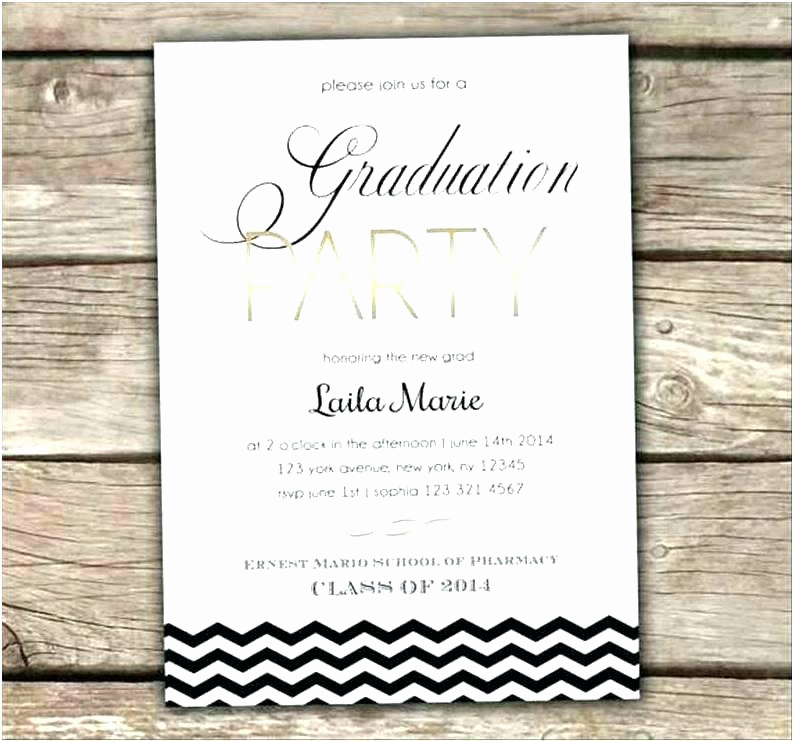 Masters Degree Graduation Invitation Wording Inspirational College Graduation Party Invitation Wording