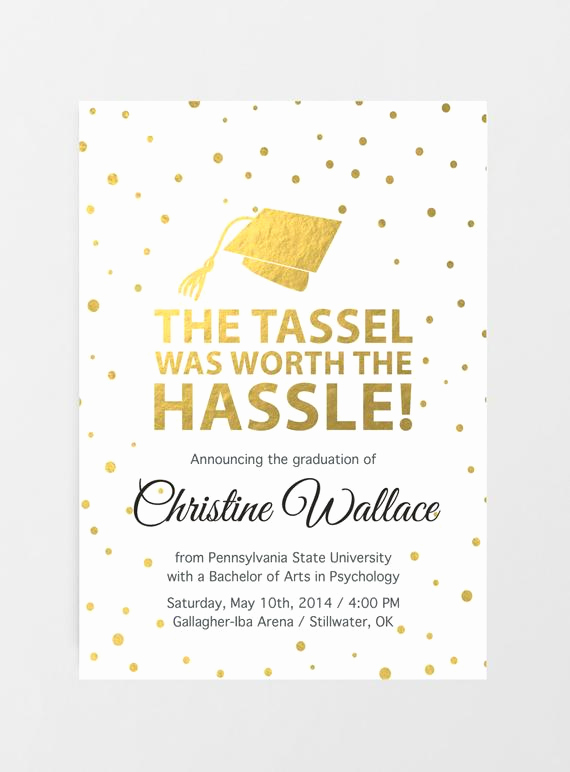 Masters Degree Graduation Invitation Wording Lovely Printable Graduation Invitation Graduation Announcement