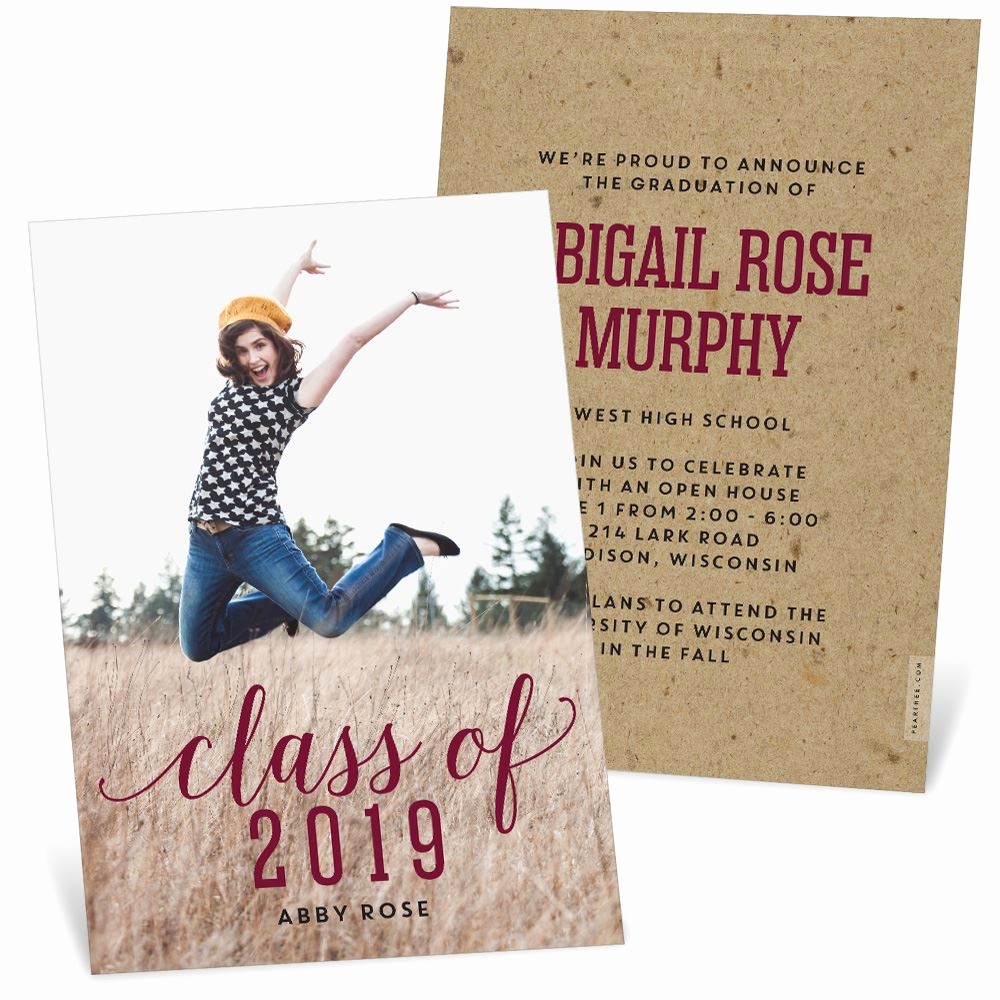 Masters Graduation Invitation Wording New A Shining Graduate Graduation Announcements