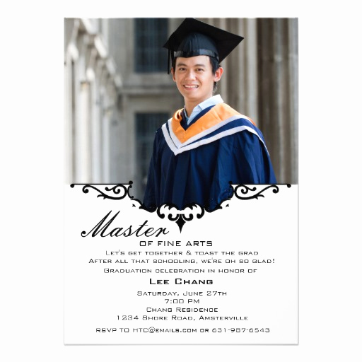 Masters Graduation Invitation Wording Unique Master Graduation Gown Uk Style Frompo