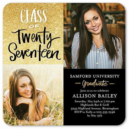 Masters Graduation Party Invitation Wording Awesome Graduation Invitations Glistening Grad Invitation