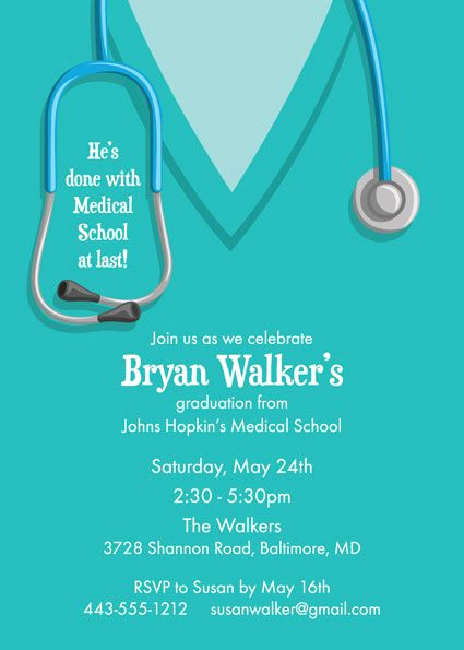 Medical School Graduation Invitation Lovely 257 Best Medical School Graduation Party Ideas Images On