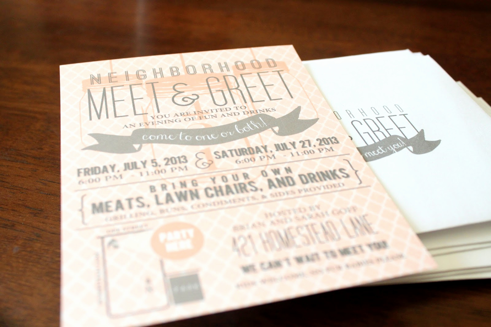 Meet and Greet Invitation Lovely Signatures by Sarah Meet N Greet Party Invitation and