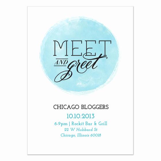 Meet and Greet Invitation Template Elegant Circle Meet and Greet Invitations & Cards On Pingg
