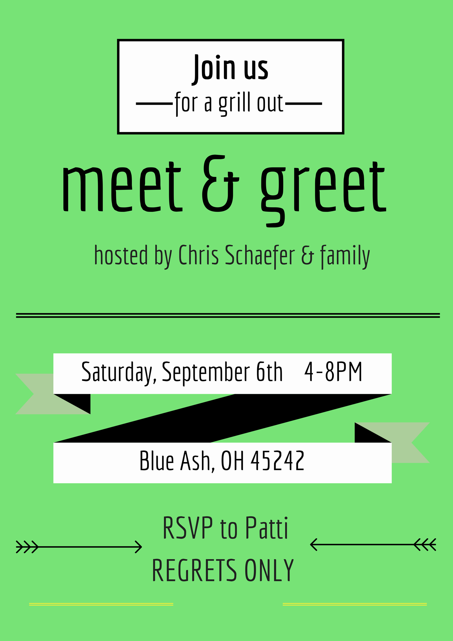 Meet and Greet Invitation Template Fresh Cincibility