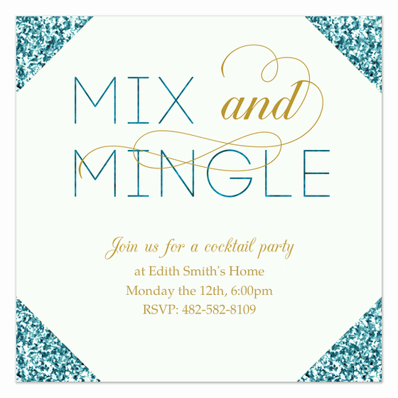 Meet and Greet Invitation Template Inspirational Mix and Mingle Invitations & Cards On Pingg