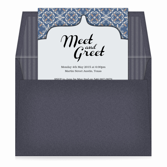 Meet and Greet Invitation Template Unique Meet and Greet Invitations & Cards On Pingg