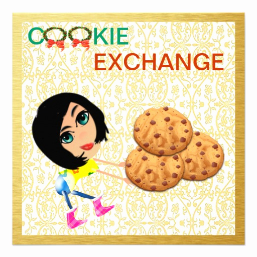 Meet and Greet Invitation Templates Awesome Cookie Exchange Invitation