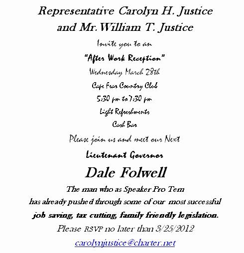 Meet and Greet Invitation Templates Beautiful Political Meet and Greet Invitations
