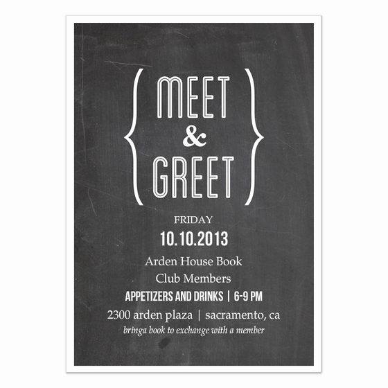 Meet and Greet Invitation Templates Unique Meet and Greet Chalkboard Invitations & Cards On Pingg