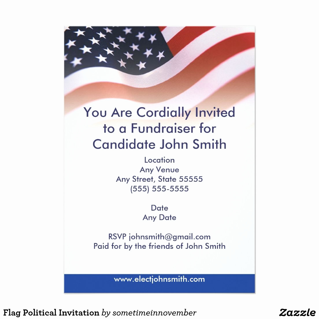 Meet and Greet Invitation Templates Unique Political Fundraiser Flyer