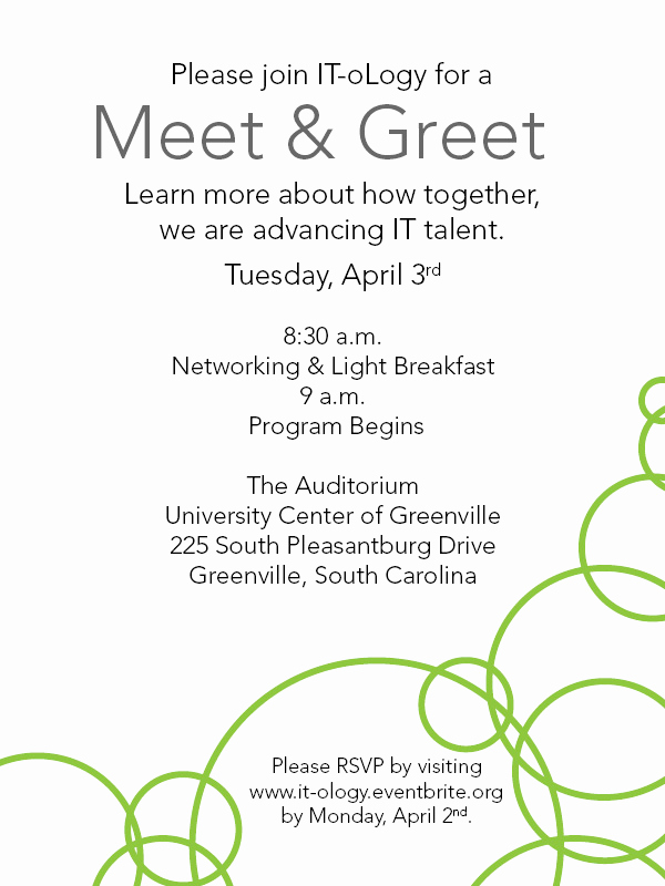 Meet and Greet Invitation Wording Lovely It Ology Ucg Meet & Greet Registration Tue Apr 3 2012