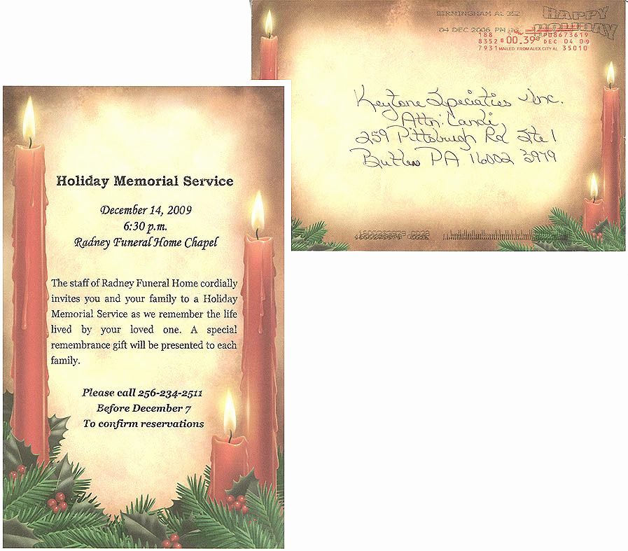 Memorial Service Invitation Template Free Fresh Memorial Service Programs Sample