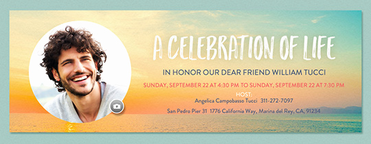 Memorial Service Invitation Template New Free Funeral and Memorial Line Invitations
