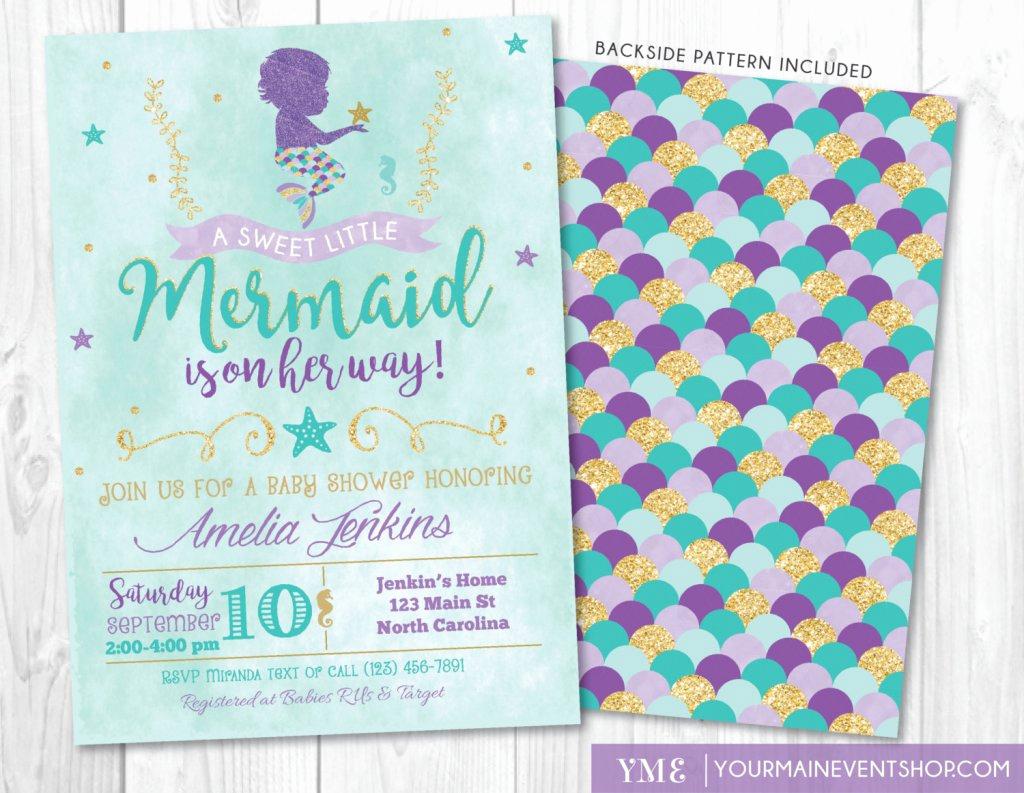 Mermaid Baby Shower Invitation Wording Fresh Under the Sea Baby Shower Ideas Baby Ideas