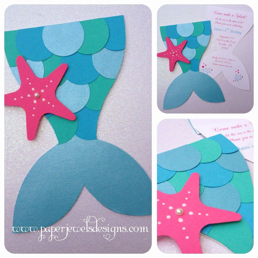 Mermaid Invitation Template Free Fresh Mermaid Splash Invitations