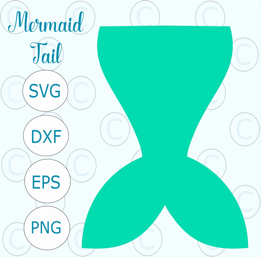 Mermaid Tail Invitation Template Unique Mermaid Tail Svg Cut File Simple Mermaid Tail Silhouette Cut