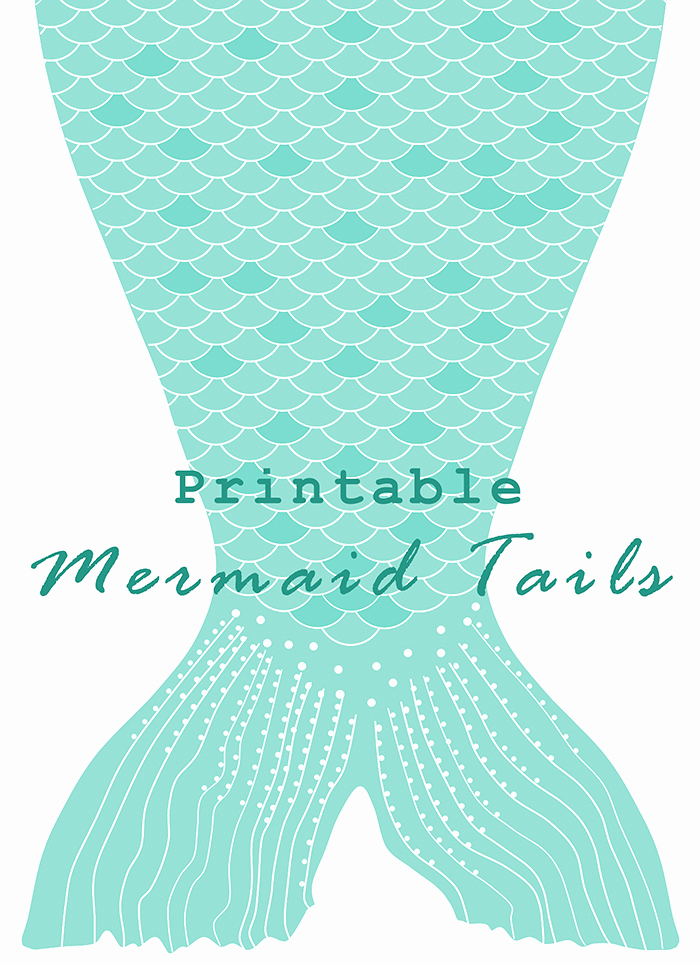 Mermaid Tail Template for Invitation Inspirational Diy Printable Paper Mermaid Tails