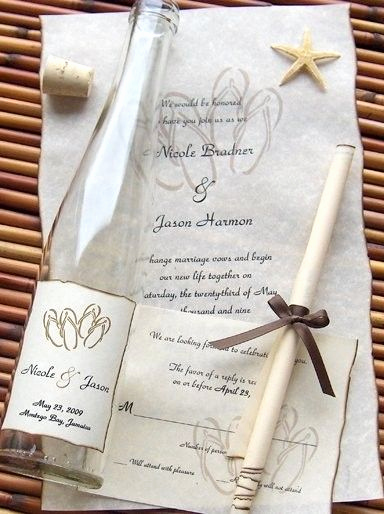Message In A Bottle Invitation Lovely Message In A Bottle Inc Invitations Modesto Ca