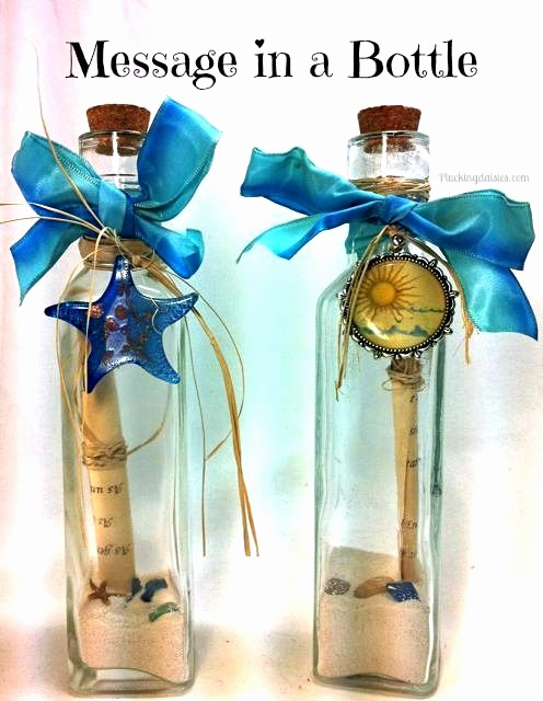 Message In A Bottle Invitation New Message In A Bottle