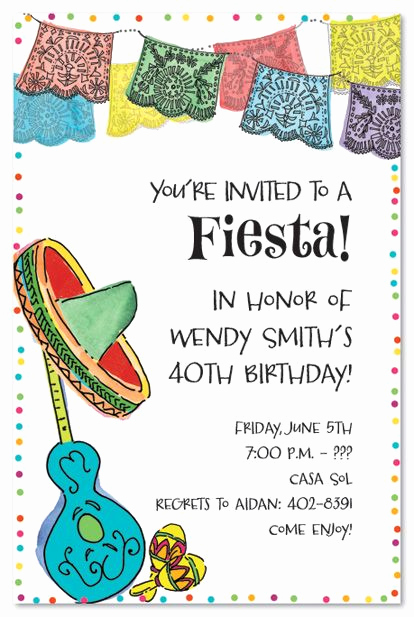 Mexican Fiesta Invitation Templates Free Inspirational Mexican themed Baby Shower