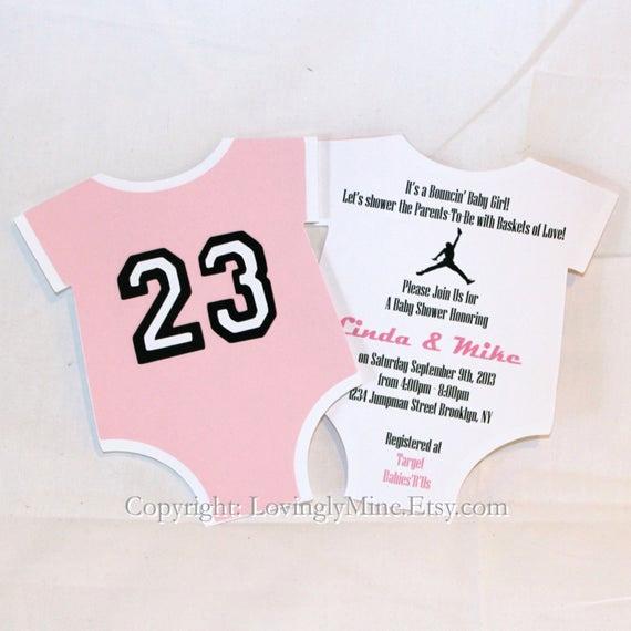 Michaels Baby Shower Invitation Lovely Items Similar to Jordan Jumpman Inspired Baby Shower