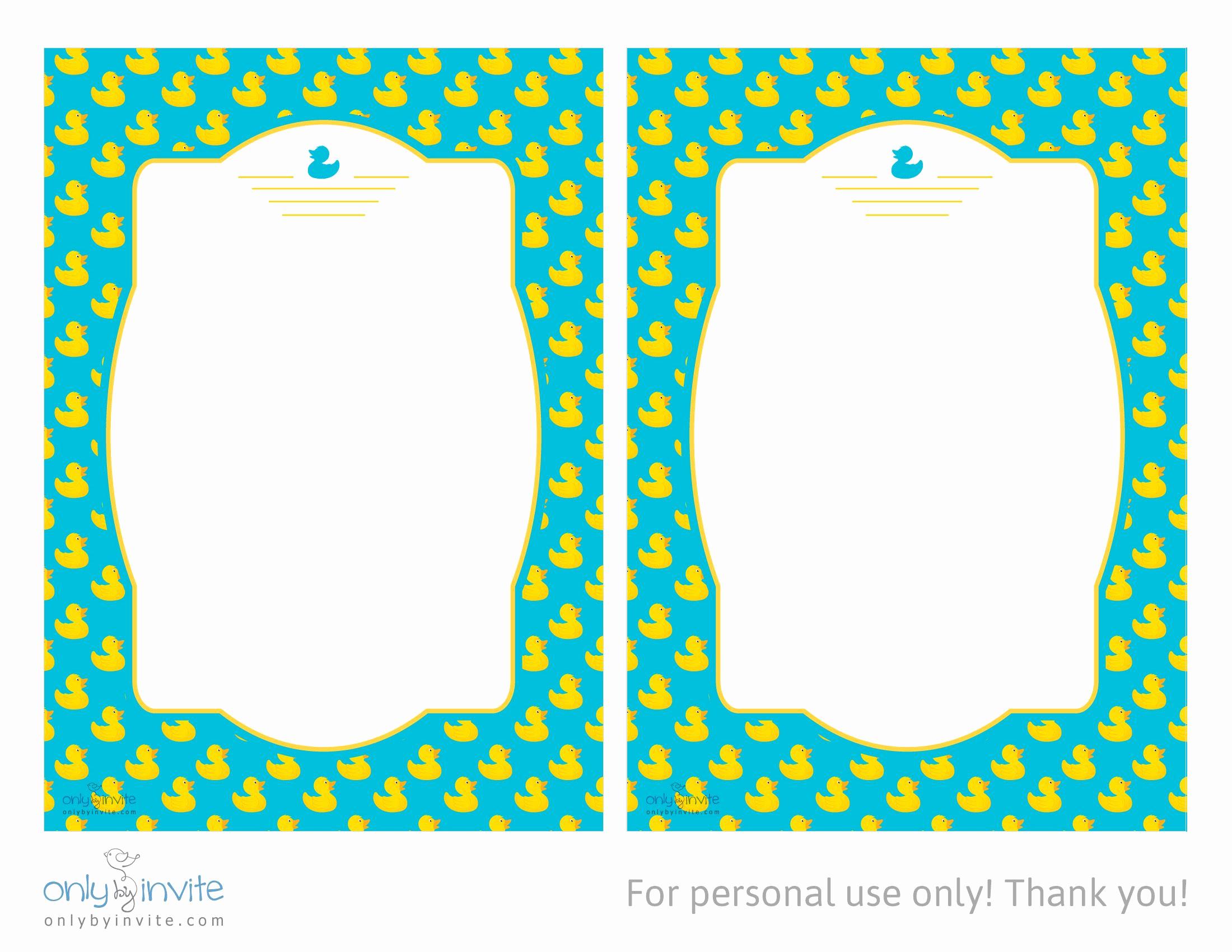 Michaels Baby Shower Invitation Unique Tropical Printable Rubber Ducky Baby Shower Invitations