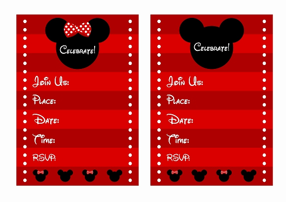 Mickey and Minnie Invitation Luxury Download these Awesome Free Mickey & Minnie Mouse