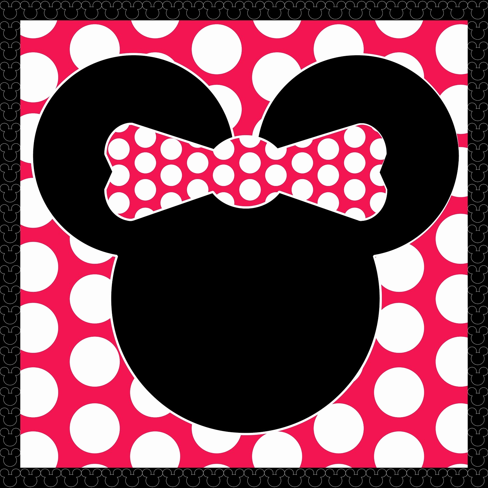Mickey and Minnie Invitation Templates Awesome Freebie Minnie Mouse Printable by Scrapdiggity