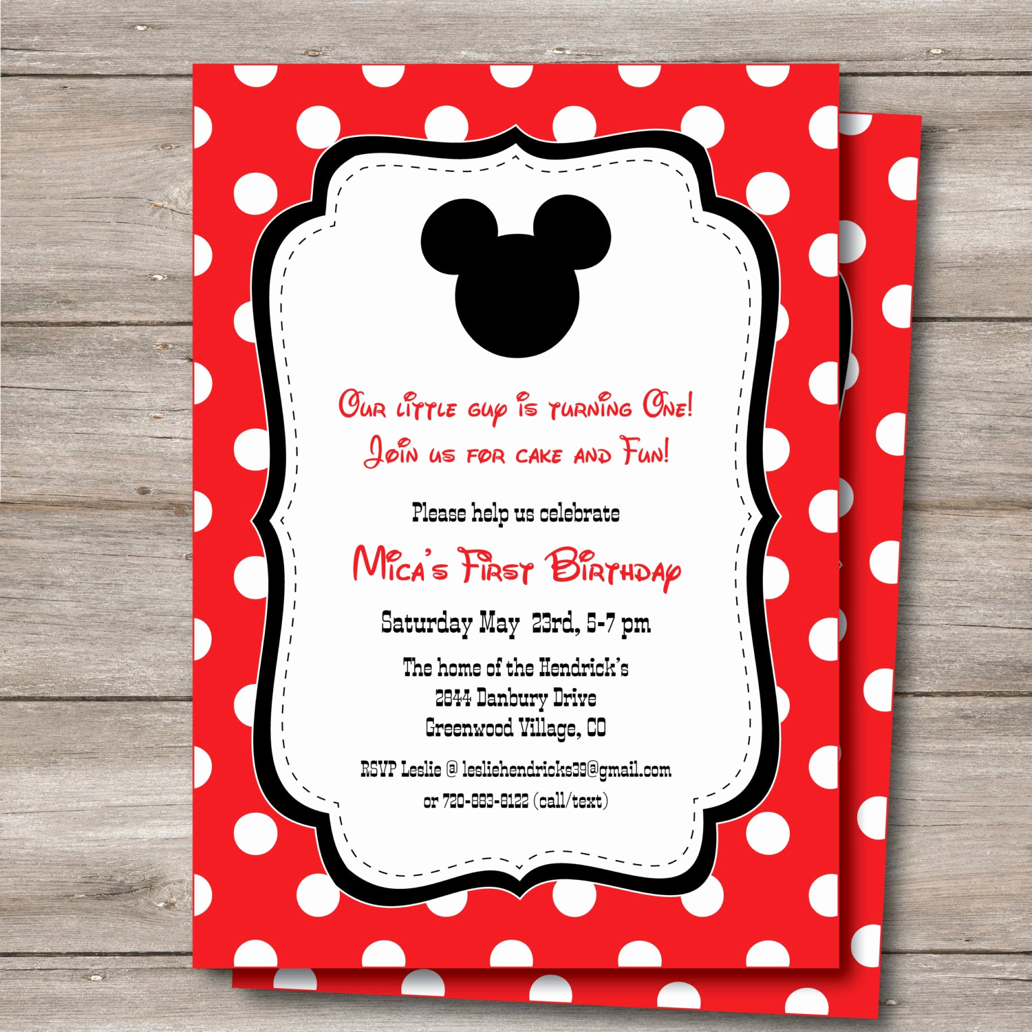 Mickey Mouse Baby Shower Invitation Awesome Mickey Mouse Invitation with Editable Text to Print at Home