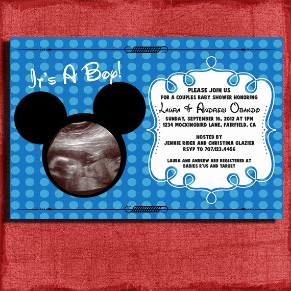 Mickey Mouse Baby Shower Invitation Inspirational Unavailable Listing On Etsy