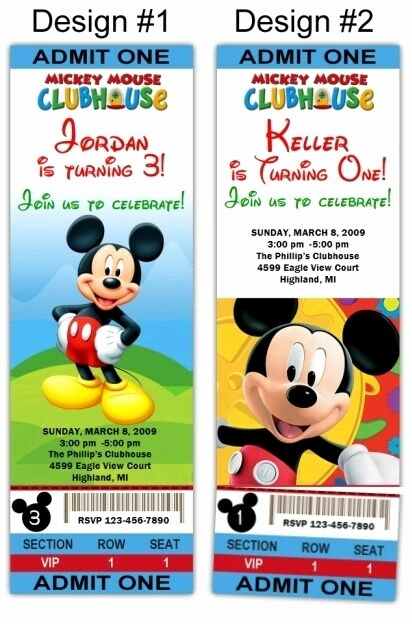 Mickey Mouse Clubhouse Invitation Inspirational Mickey Mouse Clubhouse 10ct Birthday Party Invitations