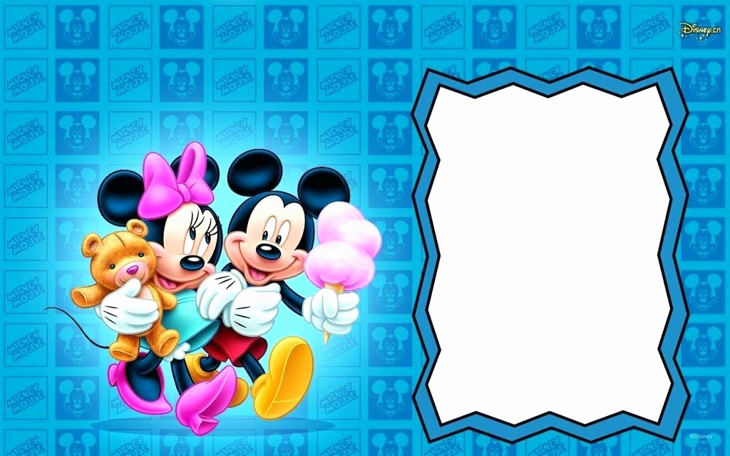 Mickey Mouse Clubhouse Invitation Template Unique Mickey Mouse Clubhouse Blank Invitations