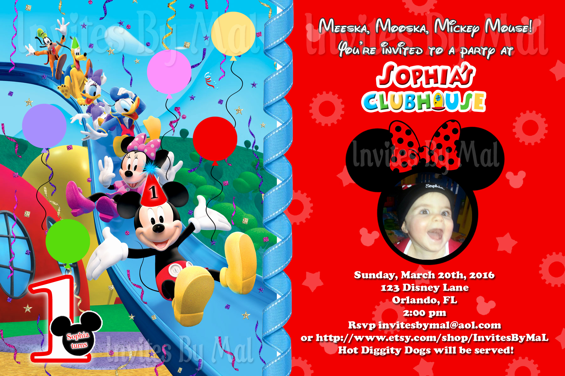 Mickey Mouse Clubhouse Invitation Templates Lovely Mickey Mouse Clubhouse Invitations for Special Birthday Party