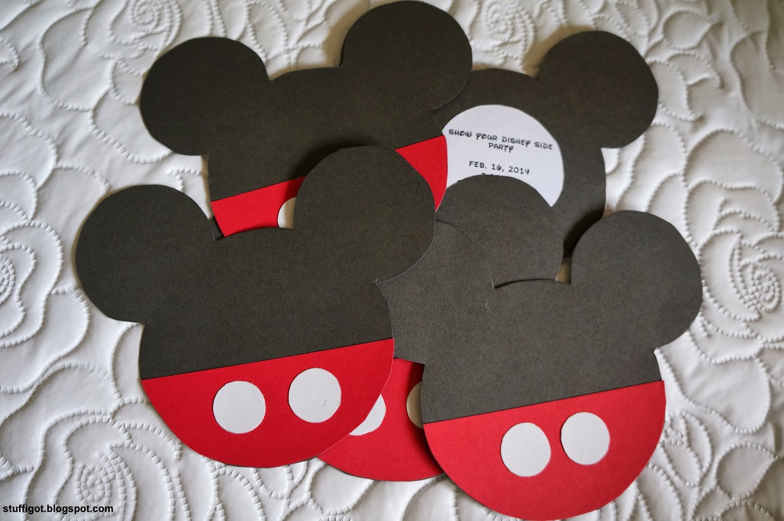 Mickey Mouse Head Invitation Template Beautiful Crafty and Wanderfull Life Our Disneyside Home