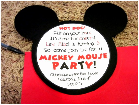 Mickey Mouse Head Invitation Template Best Of 5 Mickey Mouse Head Template for Invitations Urtei